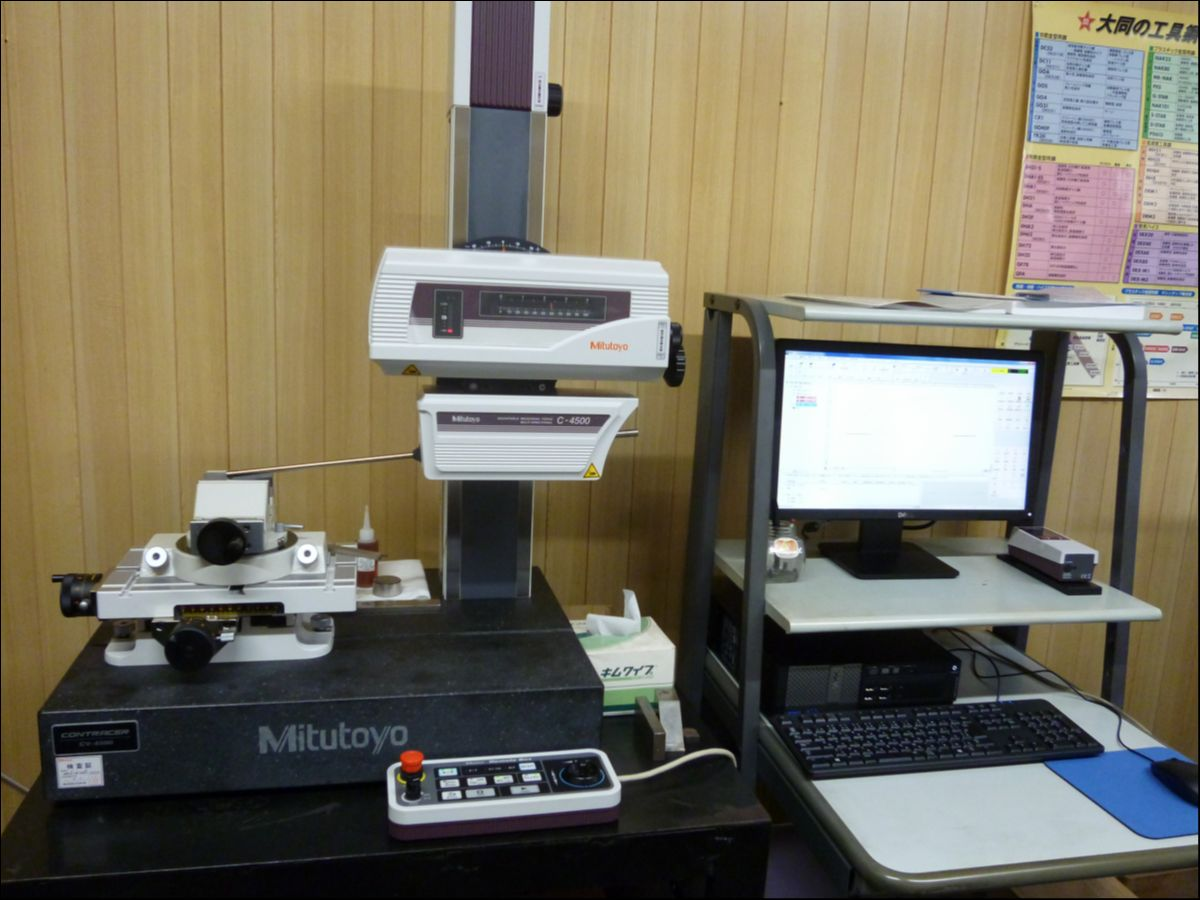 コントレーサー三次元測定機
