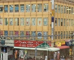 近鉄八戸ノ里駅 南側の黄色いビル 3階