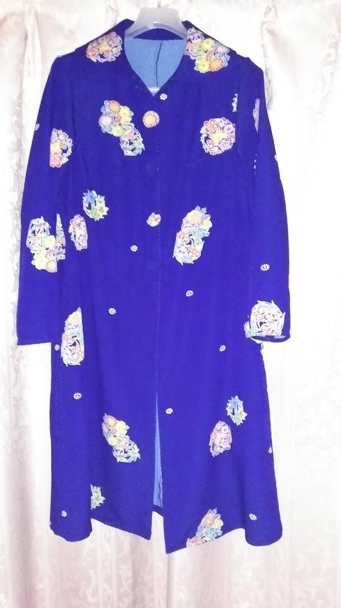 着物リメイク(コードドレス)